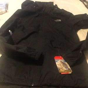 The north face resolve jacket NWT black m